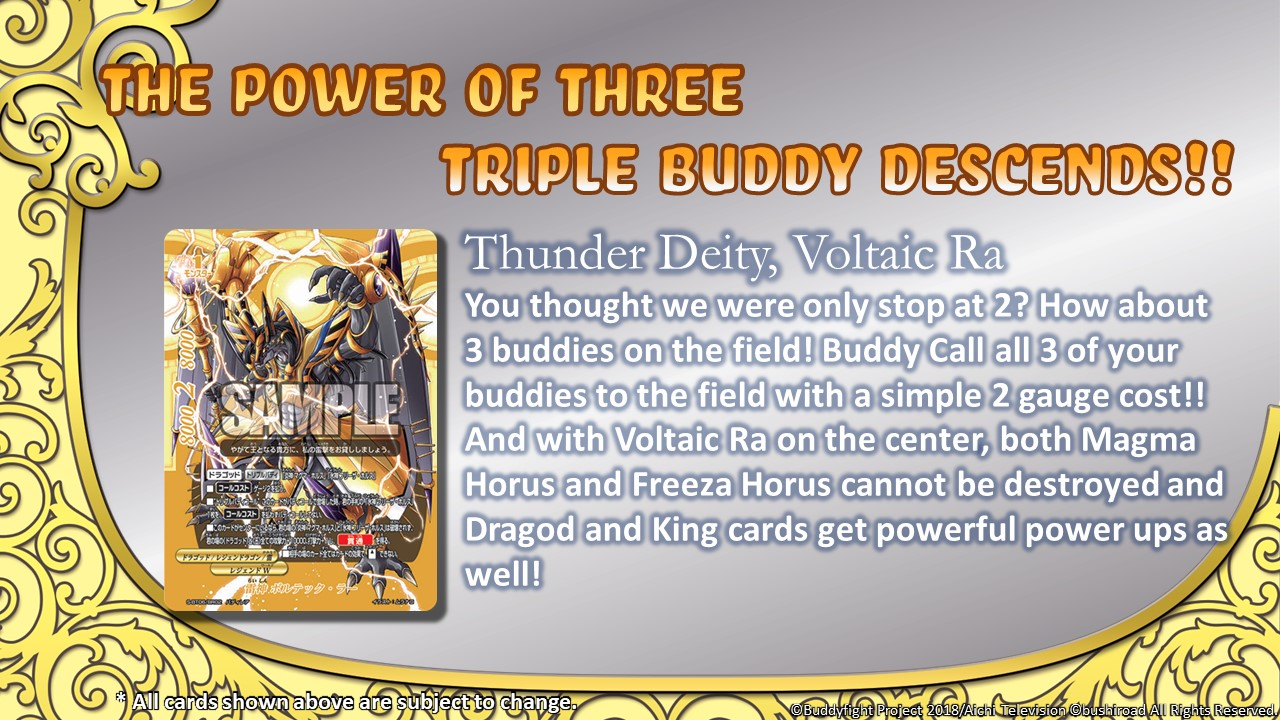 Thunder Deity Voltaic Ra