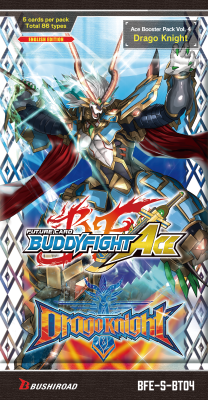 Future Card Buddyfight S-BT04 Drago Knight Pack