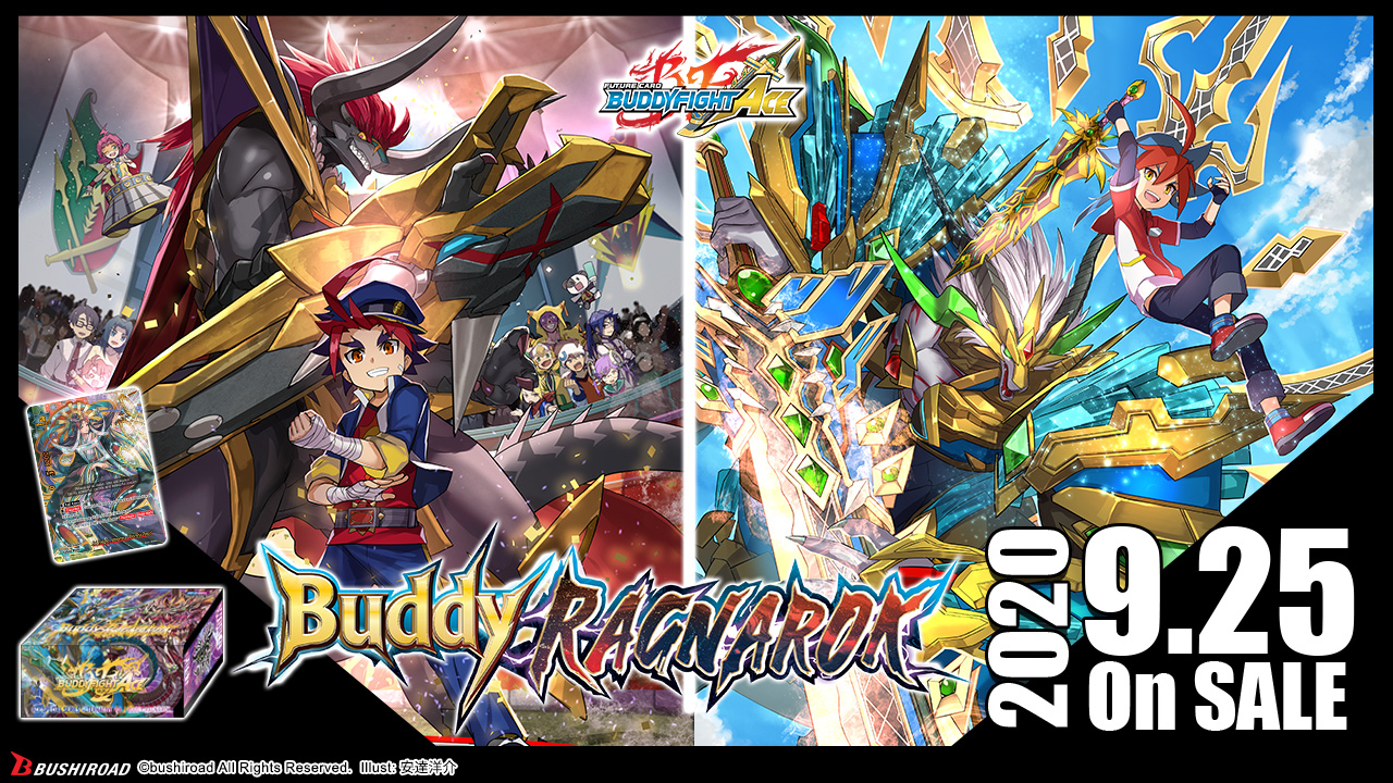 Future Card Buddyfight Ace Buddy Ragnarok Bushiroad Trading Card Game