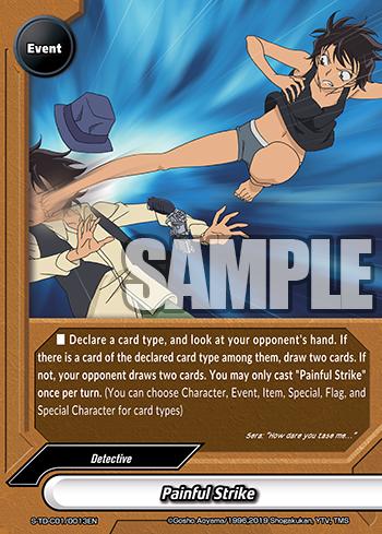 Future Card Buddyfight Painful Strike