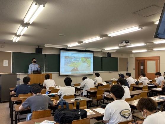 i-Constructionに関する出前講義が行われました