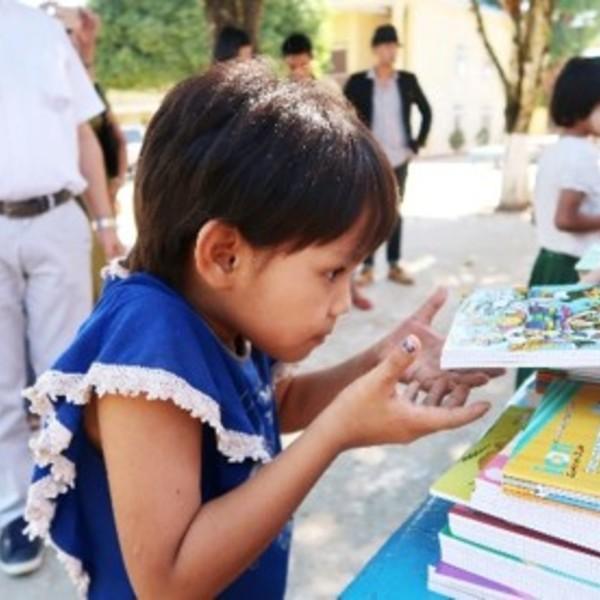 ミャンマー子供教育支援