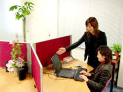 スタッフには職務適性診断をしっかり受けて頂きますので、ミスマッチを防ぎます。