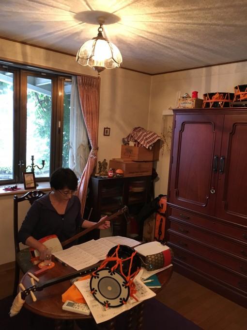 柿生 三味線・お囃子教室の画像