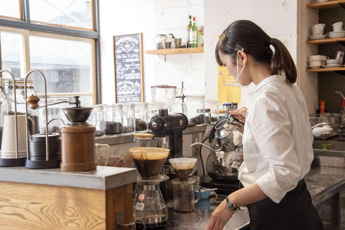 スノドカフェ、七間町、コーヒー