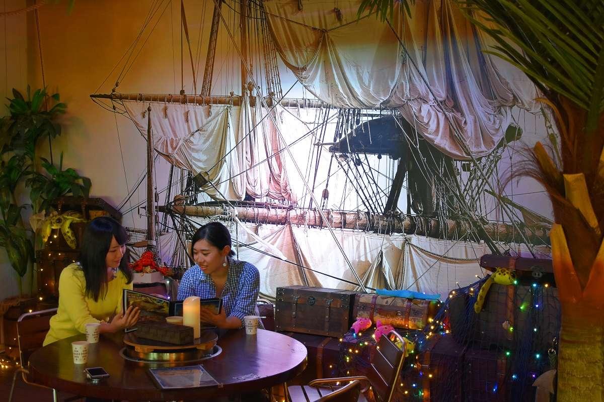 伊豆高原、グランイルミ、海賊レストラン