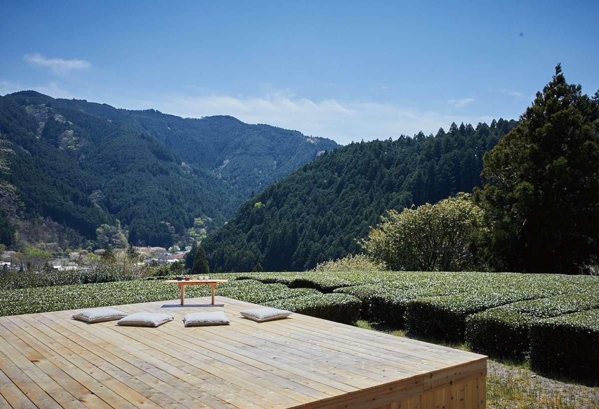 里山の茶の間、深山園、島田市
