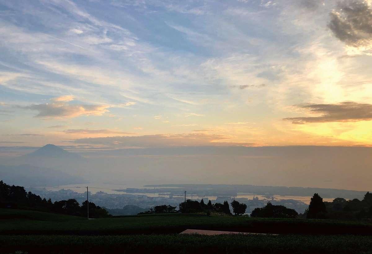 全景の茶の間、日本平、静岡市清水区