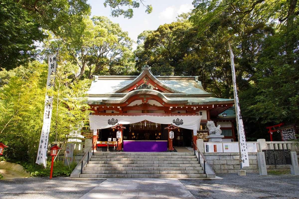 熱海、来宮神社