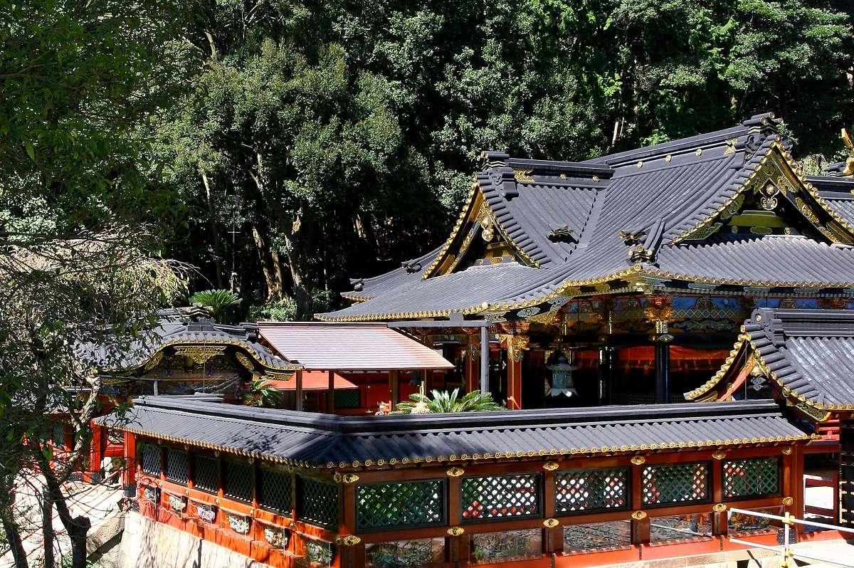 静岡市、久能山東照宮、社殿
