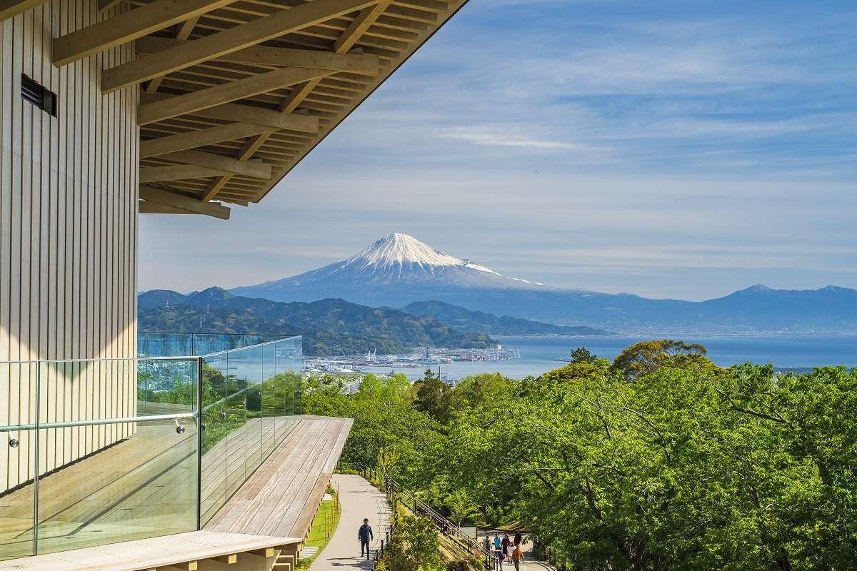 静岡、日本平夢テラス、富士山