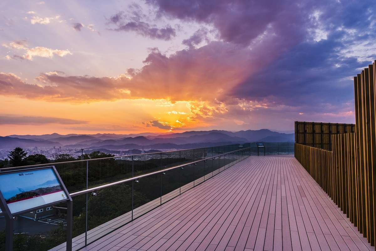 静岡、日本平夢テラス、展望回廊