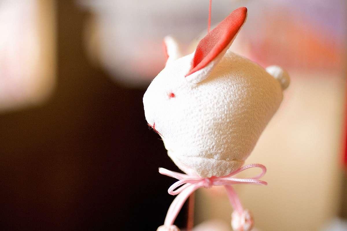 雛のつるし飾りまつり、稲取、うさぎ