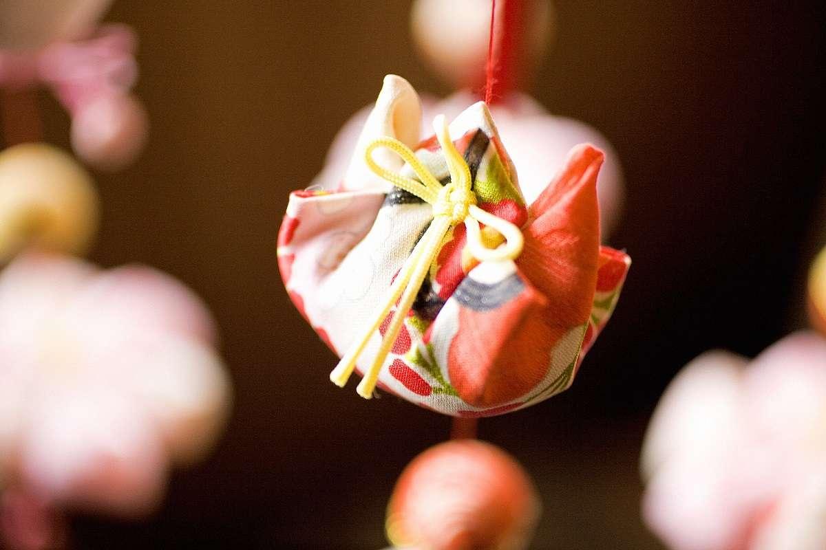 雛のつるし飾りまつり、稲取、巾着