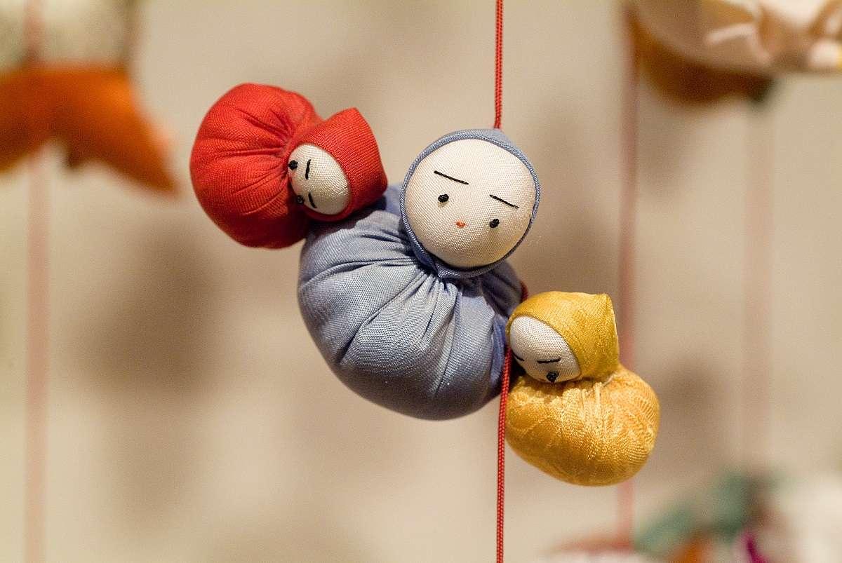 雛のつるし飾りまつり、稲取、だるま