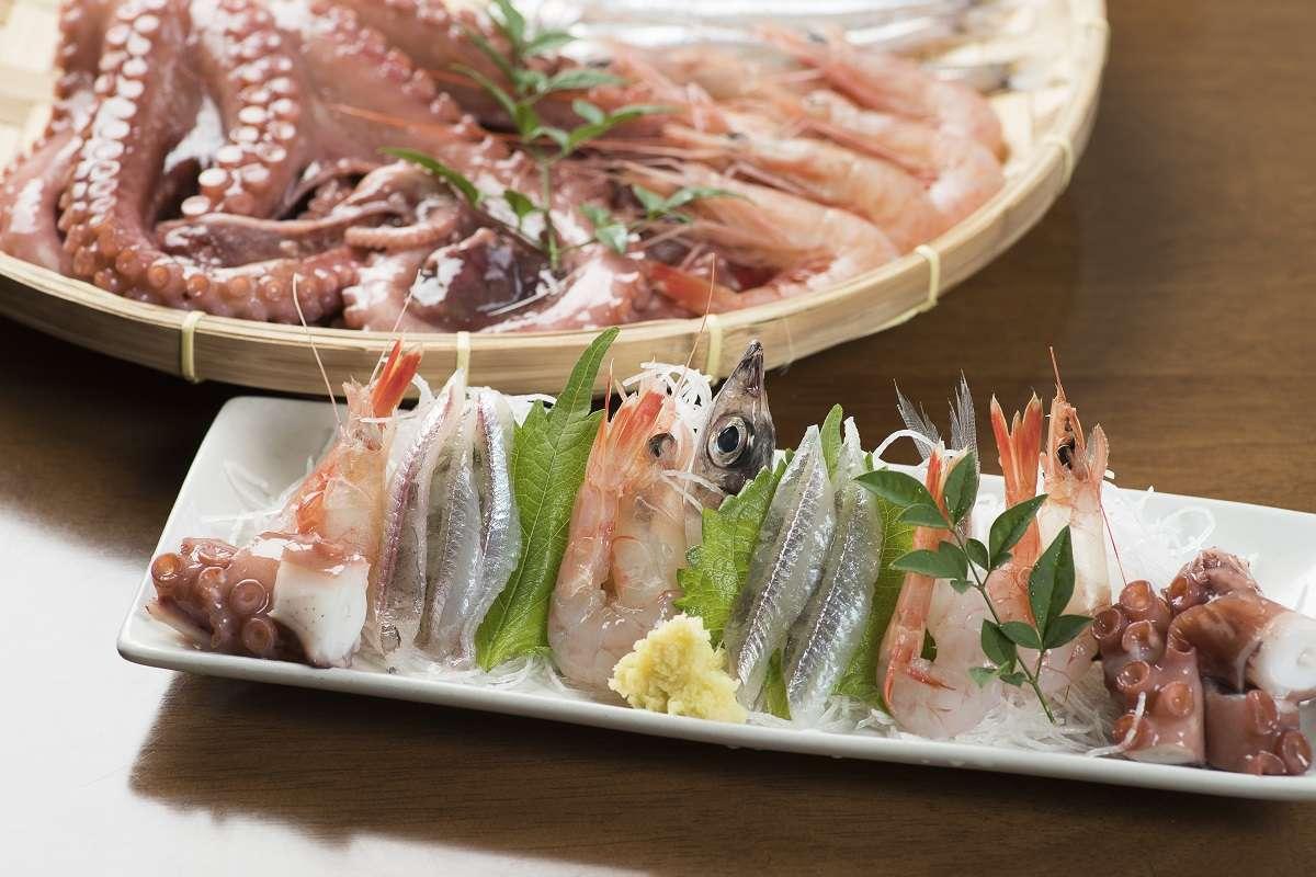 沼津市、さかなや魚清、深海魚刺身