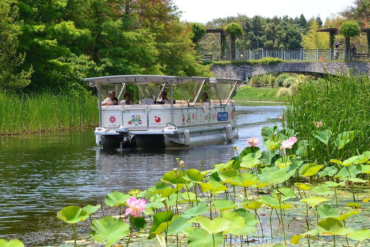浜松市西区、浜名湖ガーデンパーク、遊覧船