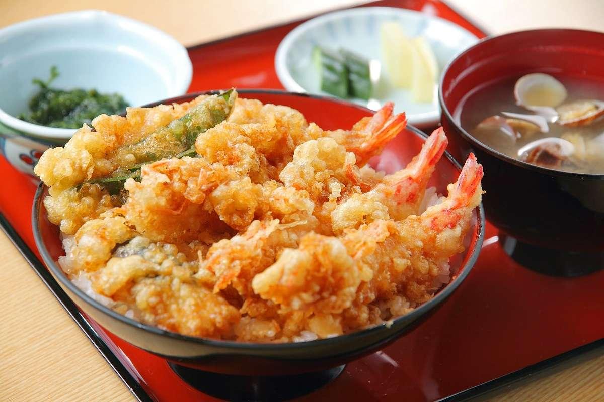 浜松市西区、魚あら、活天丼