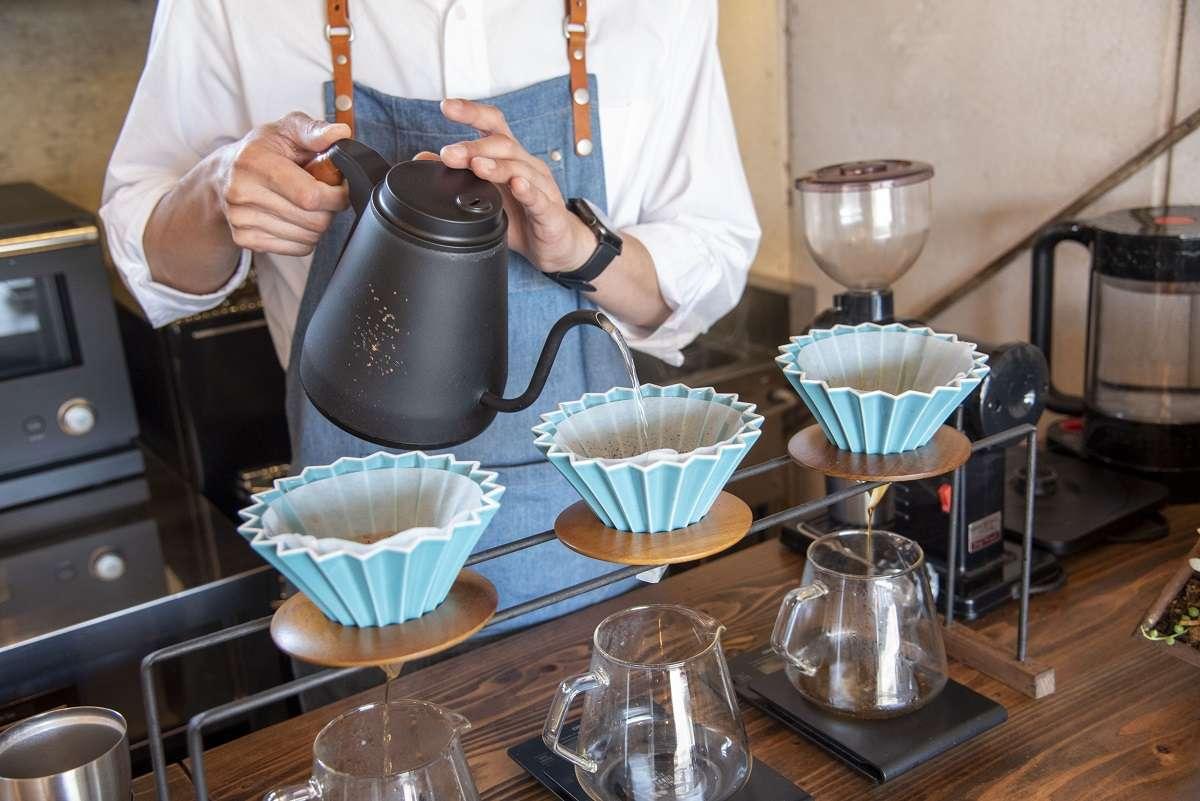 焼津、エソラ コーヒー、ハンドドリップ