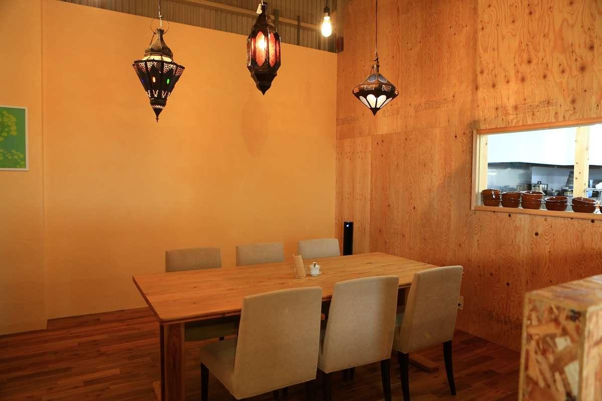 富士、ゆほびカフェ、店内