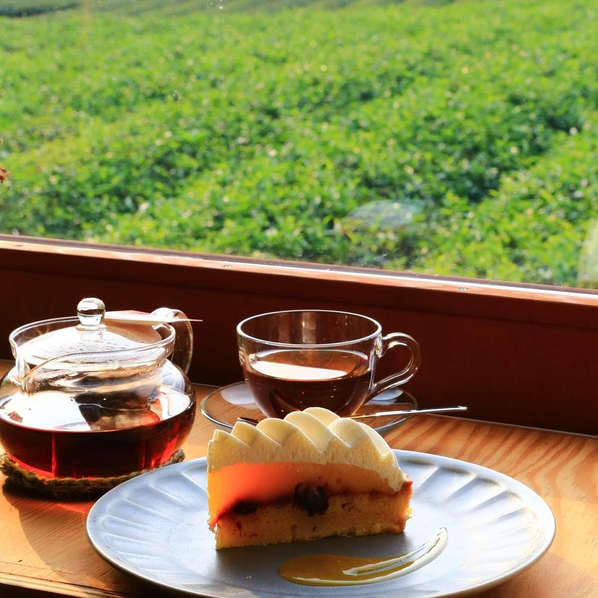 富士、ゆほびカフェ、ケーキ