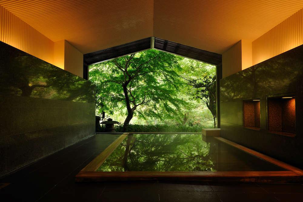「星野リゾート 界 箱根」大浴場