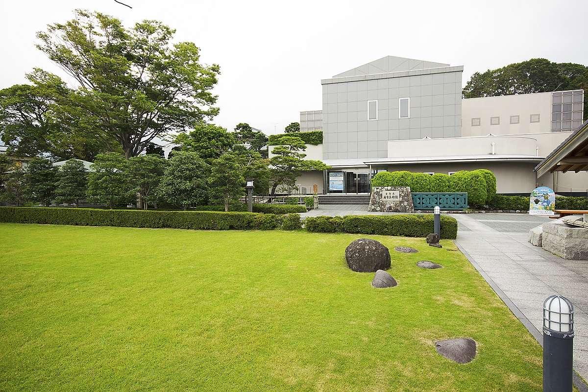 静岡市東海道広重美術館、外観