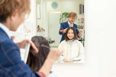 「Campanella HAIR(カンパネラヘア)」のヘアカット画像