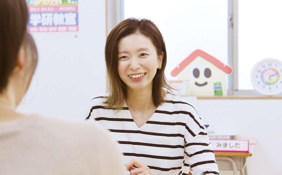 「学研」で教室を開いた先生の画像