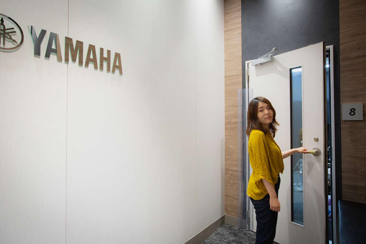 ヤマハ「大人の音楽教室」プレ葉ウォーク浜北店の入り口の画像