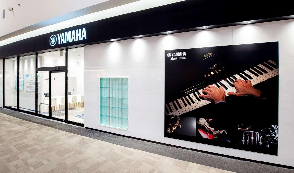 ヤマハ「大人の音楽教室」プレ葉ウォーク浜北店の入り口画像