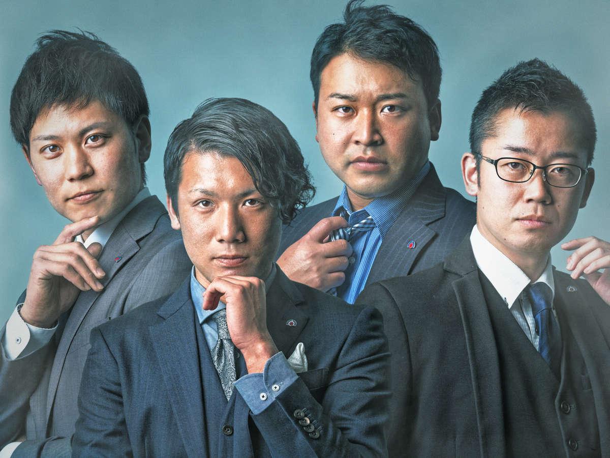 八洲男子(やしまだんし)の集合写真