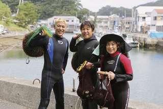 西伊豆名物の「テングサ漁」