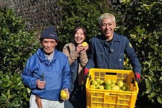 集落みんなの絆で作る「清沢レモン」