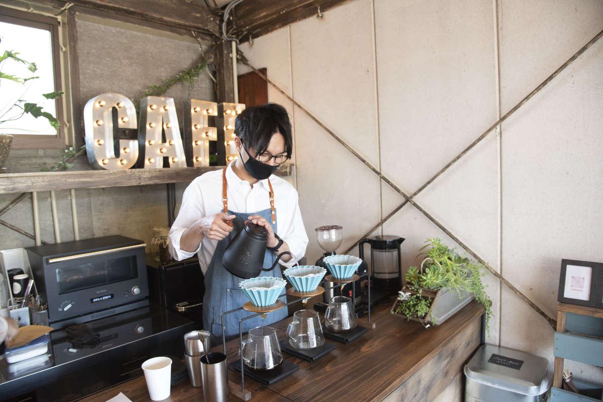 【エソラ コーヒー(ESORA COFFEE)】ブルックリンにあるような大人カッコいいコーヒースタンドが2021/2/11(木)に焼津にオープン