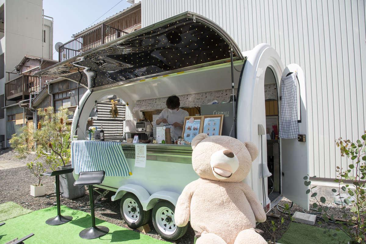 【大学生カフェ 和み】大学生たちが営むキッチンカーカフェが2021/2/17(水)に人宿町で再開