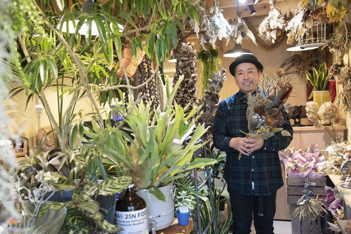 【グリーンビレッジ オーシャンサイド(Green Village oceanside)】おしゃれな観葉植物やドライフラワーなどの販売と植物レンタルのお店が2021/3/10(水)に用宗にオープン