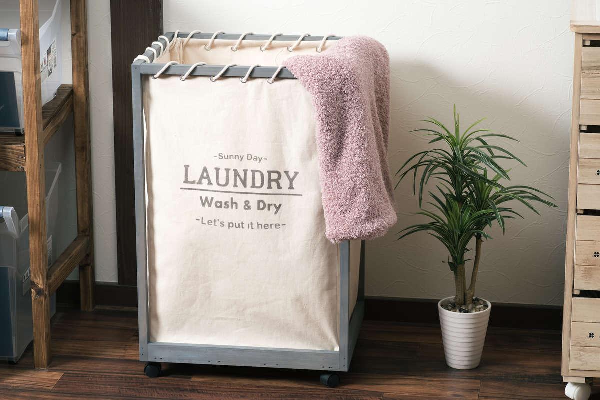 洗面脱衣所がスッキリ片付くランドリーワゴンの作り方。初心者でもかんたんDIY