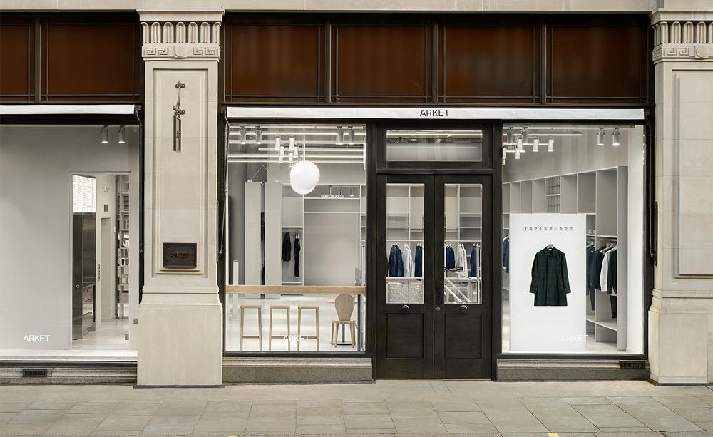 瑞典人的極簡夢想 - 全新H&M旗下品牌「Arket」倫敦分店亮相