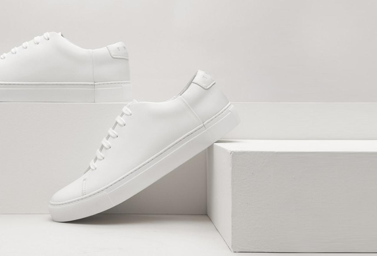 THEY -Two-Tone Mono White