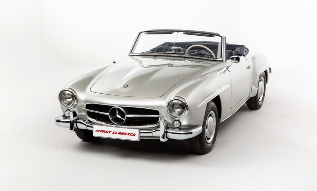 Mercedes 190SL-Everyday Object-02