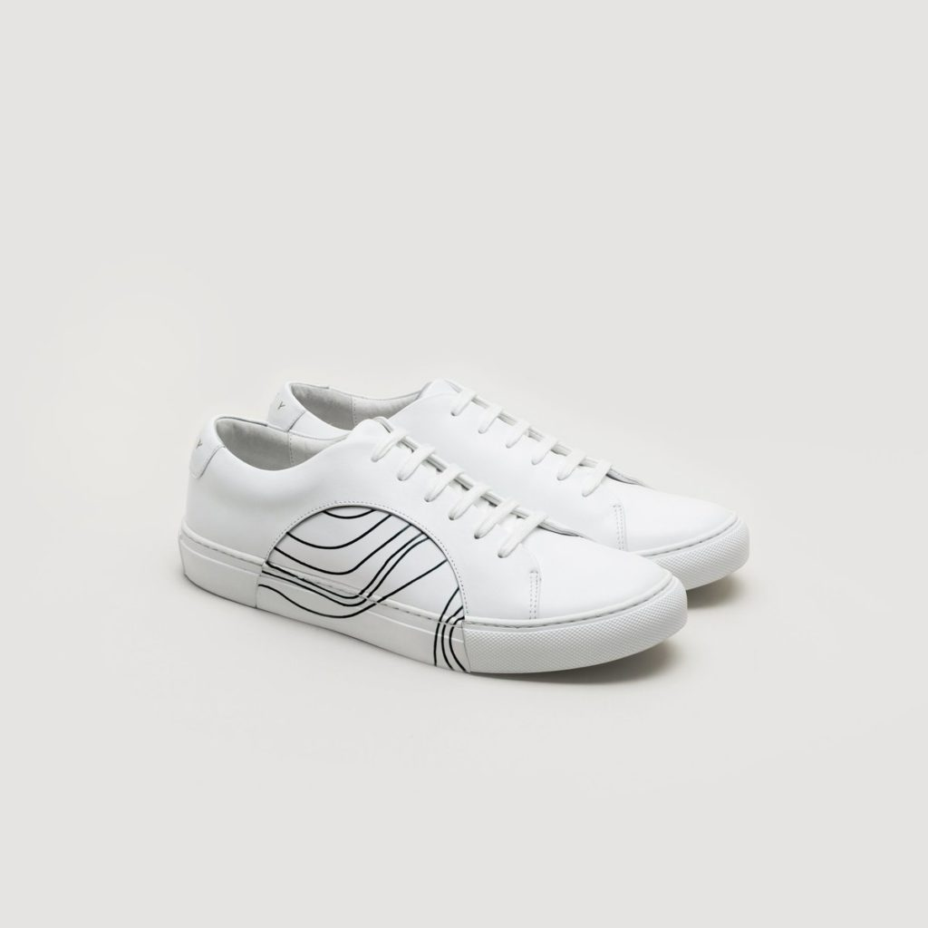 THEY - CIRCLE LOW AKAISHI SNEAKER