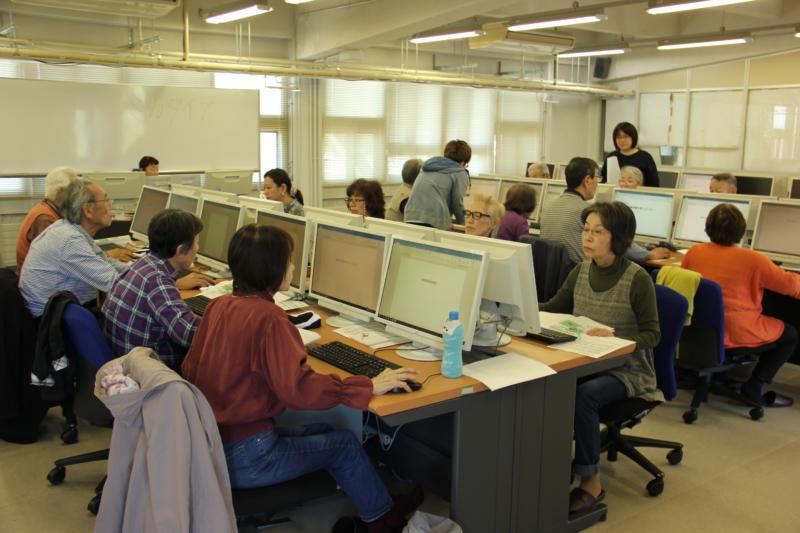 パソコン講座を開催