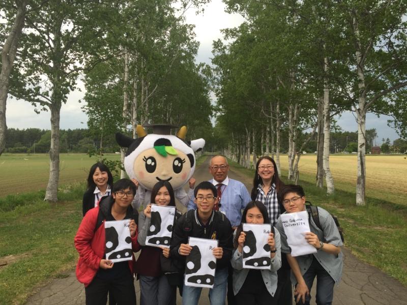 台湾国立嘉義大学の学生5名が本学で研修を行いました