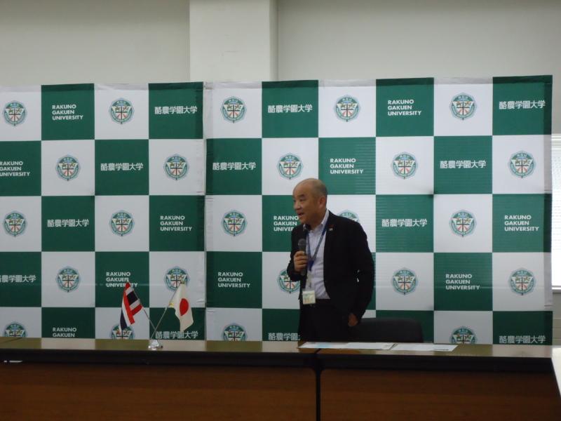 タイ・カセサート大学 開講式