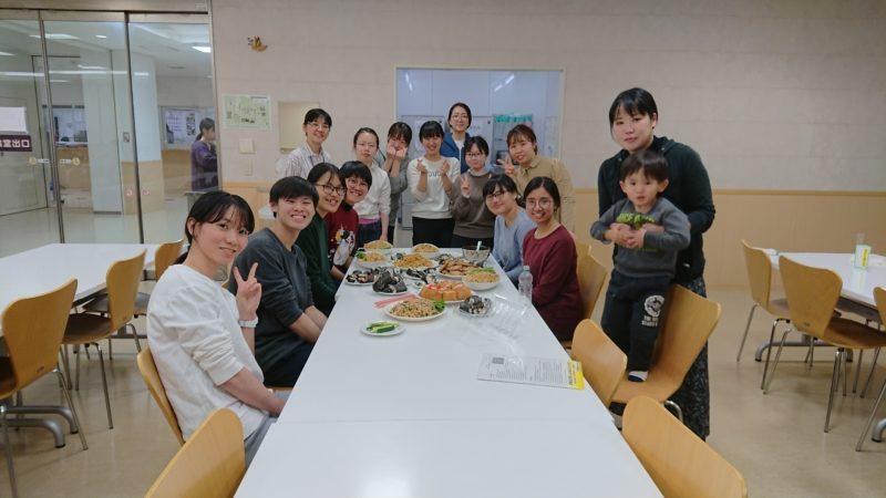 2019年度カセサート単位互換プログラム:寮内料理交流会
