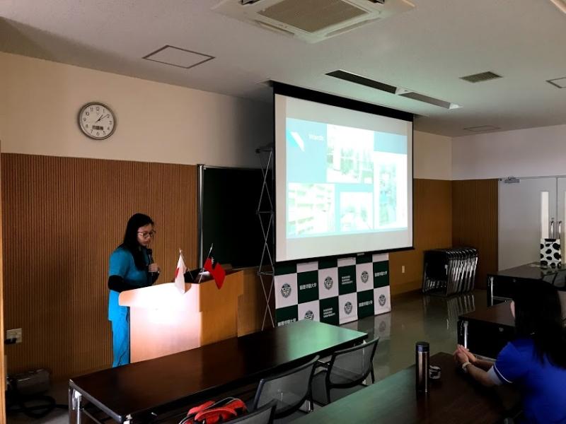 台湾国立中興大学研修生報告会を実施しました