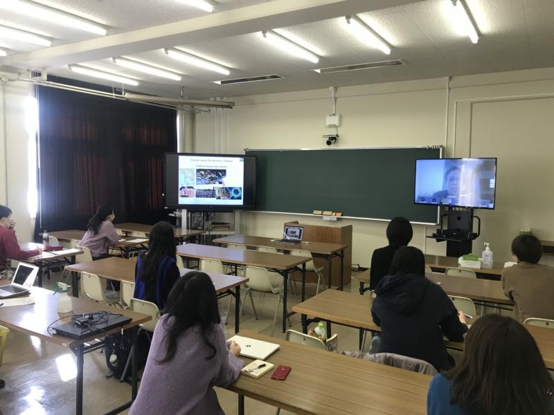 タイ・カセサート大学オンライン学術交流プログラム実施