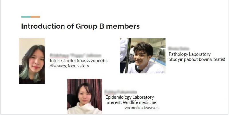 タイ・カセサート大学オンライン学術交流プログラム:共同プレゼンテーション