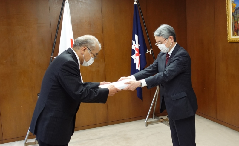 北海道アルバータ酪農科学技術交流協会が北海道社会貢献賞を受賞しました